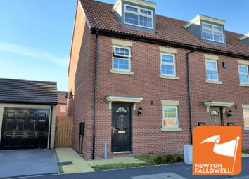 Thumbnail 3 bed town house for sale in The Twitchell, Sutton-In-Ashfield