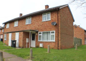 Thumbnail 2 bed semi-detached house to rent in Jefferson Close, Wittering, Peterborough