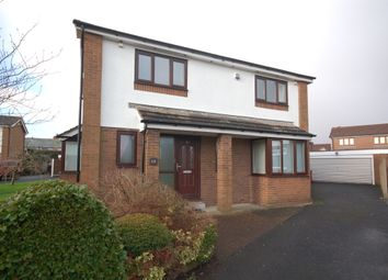 Thumbnail 4 bed detached house for sale in Gregson Close, Blackpool