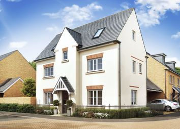 "Thumbnail 4 bedroom detached house for sale in ""Hexham"" at Priorswood, Taunton"