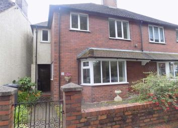 Thumbnail 3 bedroom semi-detached house to rent in Spring Gardens, Leek, Staffordshire
