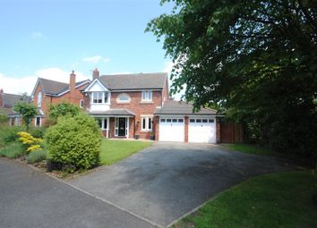 Thumbnail 4 bed detached house for sale in Hartswood Close, Appleton, Warrington