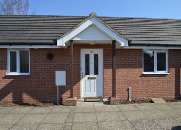 Thumbnail 2 bed terraced bungalow for sale in Foxhall Road, Ipswich