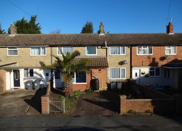 Thumbnail 3 bed terraced house for sale in Seaward Avenue, Leiston, Suffolk