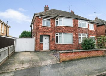Thumbnail 3 bed semi-detached house for sale in Moorgate Avenue, Birstall, Leicester