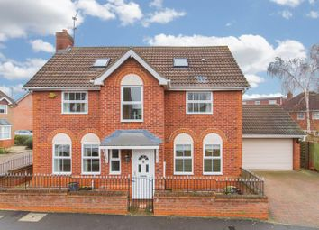 Thumbnail 4 bed detached house for sale in Lancaster Drive, Loughton