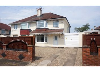 Thumbnail 3 bed semi-detached house for sale in Cherry Tree Road, Crewe