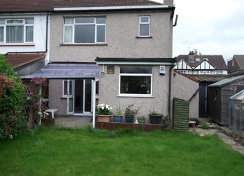 Thumbnail 3 bed semi-detached house to rent in Petersfield Avenue, Staines