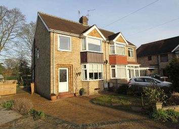 Thumbnail 3 bed semi-detached house for sale in Atkinson Drive, Brough, East Yorkshire