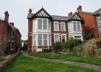 Thumbnail 4 bedroom semi-detached house for sale in Gladstone Road, Barry