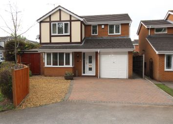 Thumbnail 4 bedroom detached house for sale in Swallow Grove, Gateford, Worksop