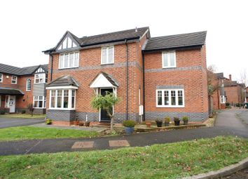 Thumbnail 4 bed detached house to rent in Enfield Close, Hilton, Derby