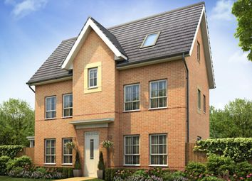 "Thumbnail 4 bed detached house for sale in ""Hexham"" at Lantern Lane, East Leake, Loughborough"