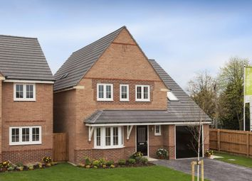 "Thumbnail 4 bedroom detached house for sale in ""Harborough"" at Blackpool Road, Kirkham, Preston"