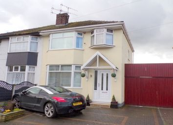 Thumbnail 3 bed property to rent in Eccleshall Road, New Ferry, Wirral