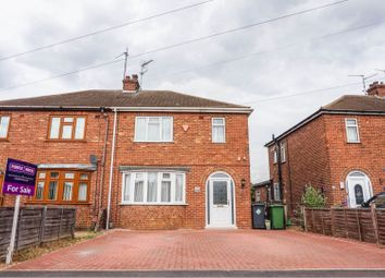 Thumbnail 3 bed semi-detached house for sale in Coneygree Road, Peterborough