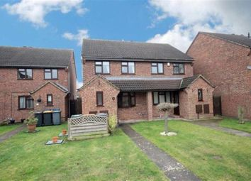 Thumbnail 3 bedroom semi-detached house for sale in Oak Close, Wootton, Bedford