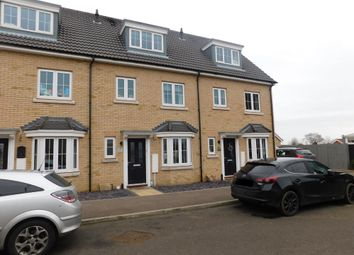 Thumbnail 4 bed town house for sale in Osprey Drive, Stowmarket