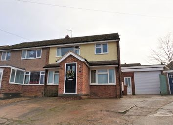 Thumbnail 3 bed semi-detached house for sale in Denton Rise, Melton Mowbray