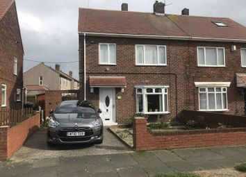 Thumbnail 3 bed semi-detached house for sale in Steward Crescent, South Shields