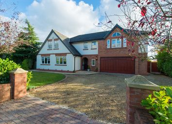 Thumbnail 5 bed detached house for sale in Claremont Road, Culcheth, Warrington