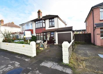 Thumbnail 3 bed semi-detached house for sale in Salcombe Road, Freemantle, Southampton