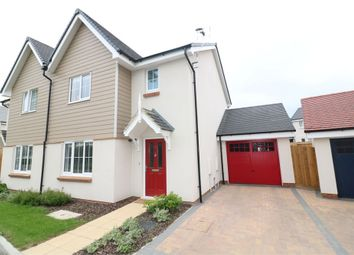 Thumbnail 3 bed semi-detached house for sale in Warham Close, Cheshunt, Waltham Cross, Hertfordshire