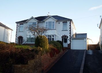 Thumbnail 4 bed semi-detached house for sale in Usk Road, Pontypool, Monmouthshire.
