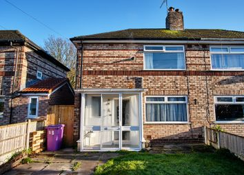 Thumbnail 3 bed semi-detached house for sale in Gregory Close, Liverpool