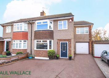 Thumbnail 4 bed semi-detached house for sale in Roslyn Close, Broxbourne