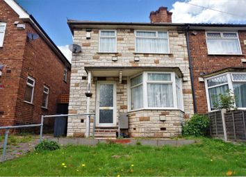 Thumbnail 3 bed end terrace house for sale in Tyburn Road, Birmingham