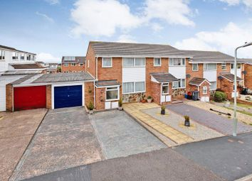 Thumbnail 3 bed terraced house for sale in Spruce Close, Exmouth