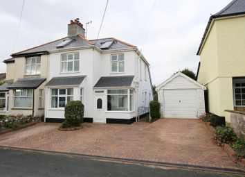 Thumbnail 3 bed semi-detached house for sale in Barton Road, Tiverton