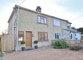 Thumbnail 3 bed semi-detached house for sale in Church End, Rampton, Cambridge