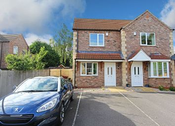 Thumbnail 3 bed semi-detached house for sale in Poachers Close, Barrow-Upon-Humber