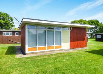 Thumbnail 1 bed detached house for sale in Broadside Chalet Park Stalham, Norwich