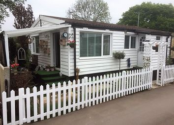 Thumbnail 2 bed mobile/park home for sale in The Elms, Loughton