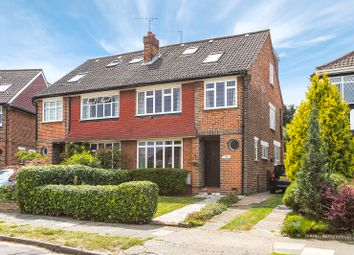 Thumbnail 4 bed semi-detached house for sale in Anglesmede Crescent, Pinner