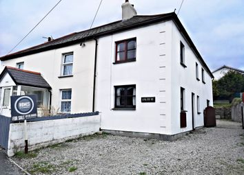 Thumbnail 2 bed semi-detached house for sale in Phernyssick Road, St Austell
