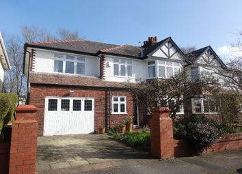 Thumbnail 5 bed semi-detached house for sale in Yewlands Crescent, Fulwood, Preston