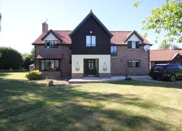 Thumbnail 4 bed detached house to rent in Low Common, Bunwell, Norwich
