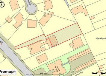 Thumbnail Land for sale in Land Rear Of 64, London Road, Maidstone, Kent