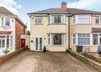 Thumbnail 3 bed semi-detached house for sale in Whitecroft Road, Sheldon, Birmingham