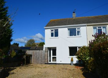 Thumbnail 3 bed semi-detached house for sale in Elm Grove, Feock, Nr Truro, Cornwall