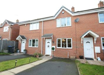 Thumbnail 2 bed town house for sale in Lorena Close, Biddulph, Stoke-On-Trent