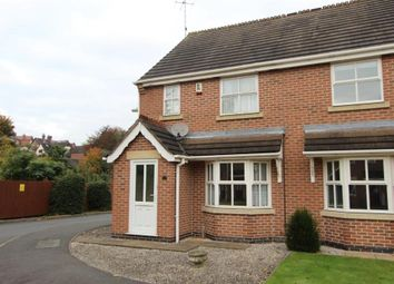 Thumbnail 3 bed semi-detached house to rent in Castle View, Duffield, Derby