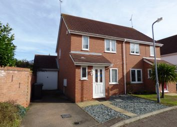 Thumbnail 3 bed semi-detached house to rent in Sovereign Close, Rochford, Essex
