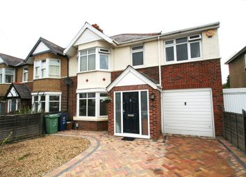 Thumbnail 4 bedroom semi-detached house to rent in Westbury Crescent, Oxford