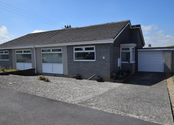 Thumbnail 3 bed semi-detached bungalow for sale in Tor View, Tregadillett, Launceston