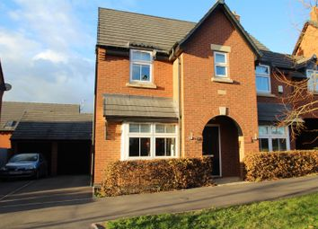 Thumbnail 3 bed link-detached house for sale in Saxon Drive, Rothley, Leicester